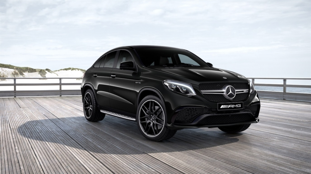 Mercedes-Benz Mercedes-AMG GLE 63 4MATIC Coupe (197)Чёрный Обсидиан металлик