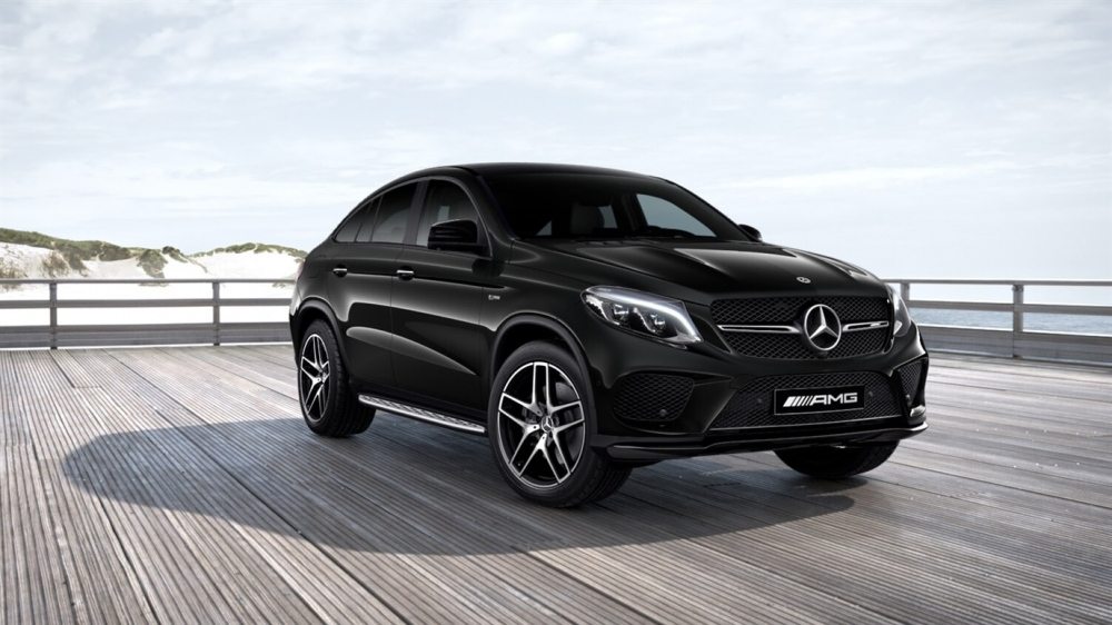 Mercedes-Benz GLE 450 AMG 4MATIC Coupe (197)Чёрный Обсидиан металлик