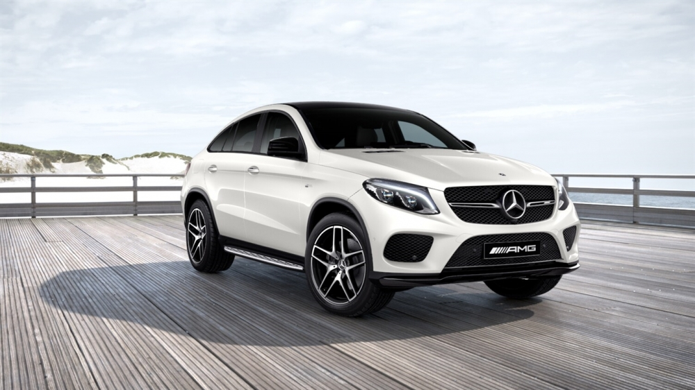 Mercedes-Benz GLE 450 AMG 4MATIC Coupe (799)designo Белый Бриллиант металлик