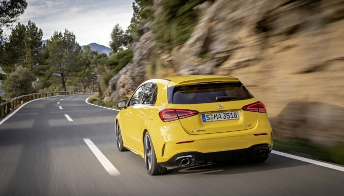 Mercedes-AMG A 35 4MATIC sun yellow