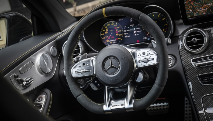 Руль Mercedes-AMG C 63 S 4MATIC
