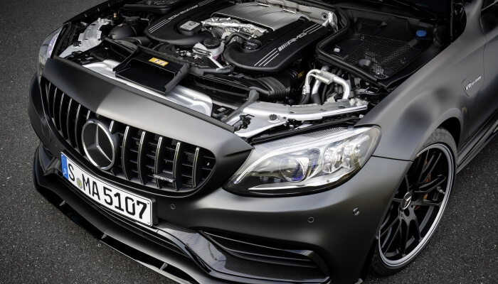 Двигатель Mercedes-AMG C 63 S 4MATIC