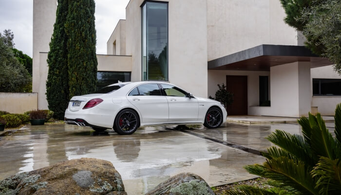 mercedes-benz s63 amg 4matic экстерьер