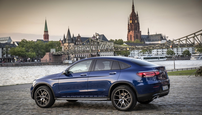 Mercedes-Benz GLC 300 4MATIC Купе