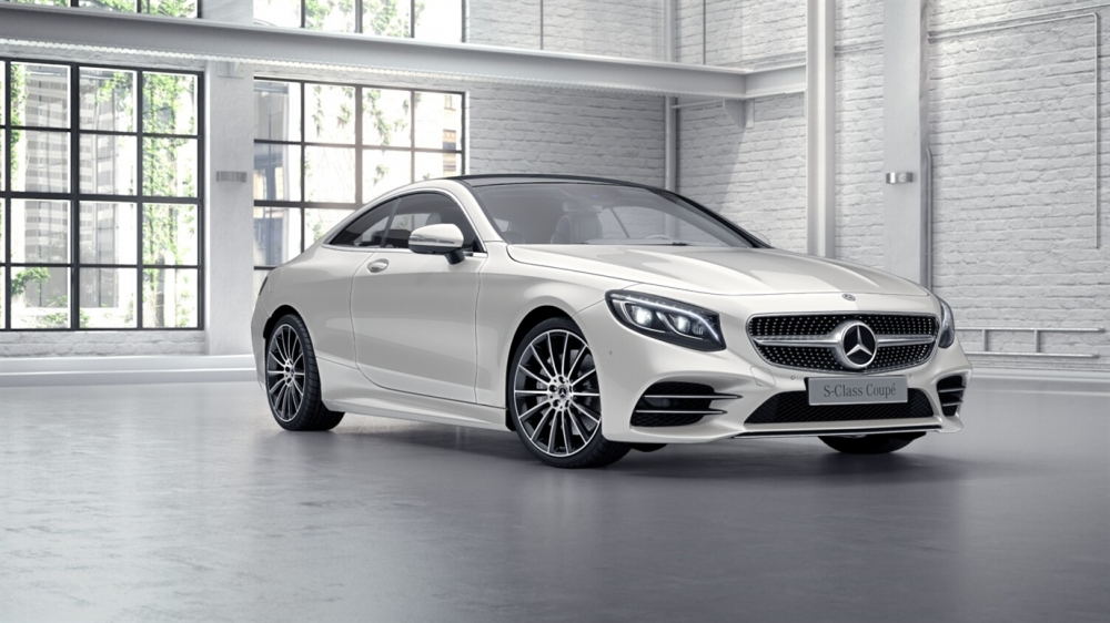 Mercedes-Benz S 450 4MATIC Coupe (799)designo белый бриллиант