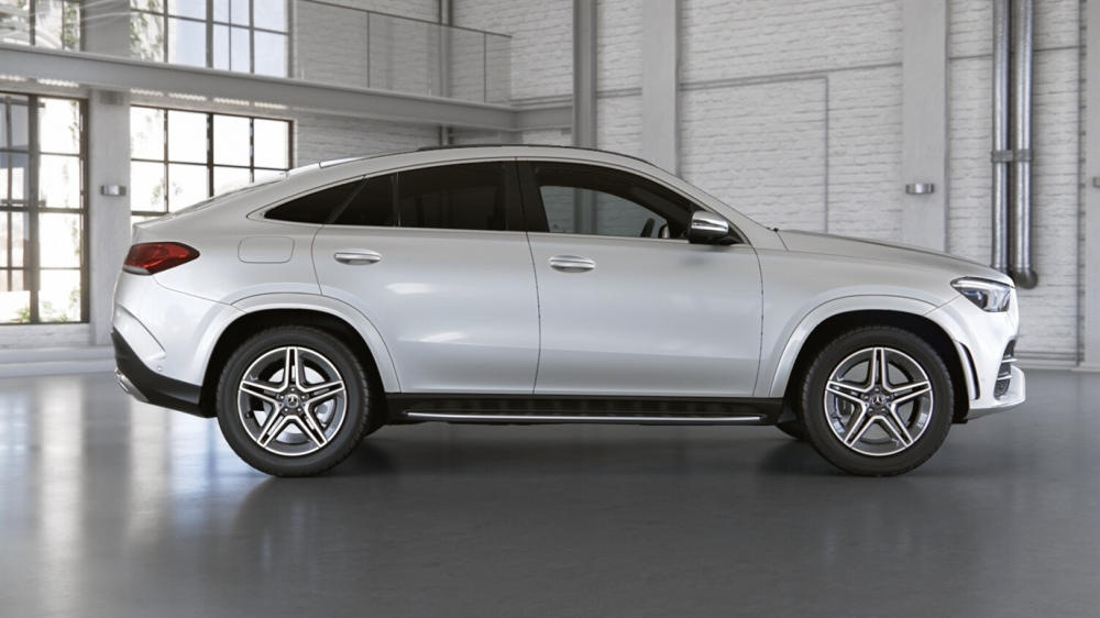 Mercedes-Benz GLE 350 d 4MATIC Coupe (197)черный обсидиан (505)Кожа Exclusive Наппа, бежевый маккиато / серая магма