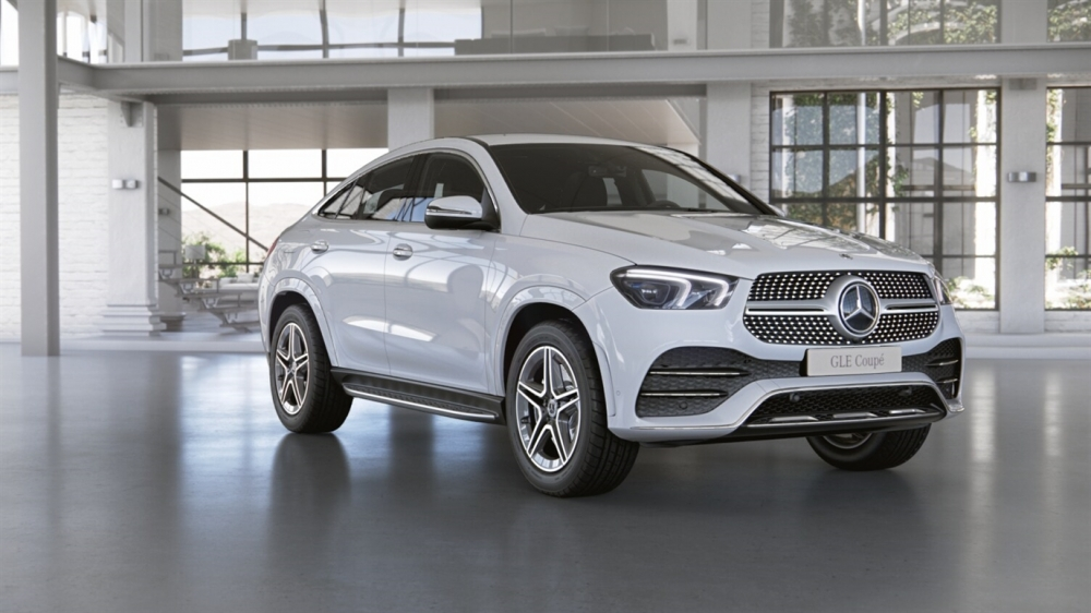 Mercedes-Benz GLE 450 4MATIC Coupe (149)Полярный белый неметаллик