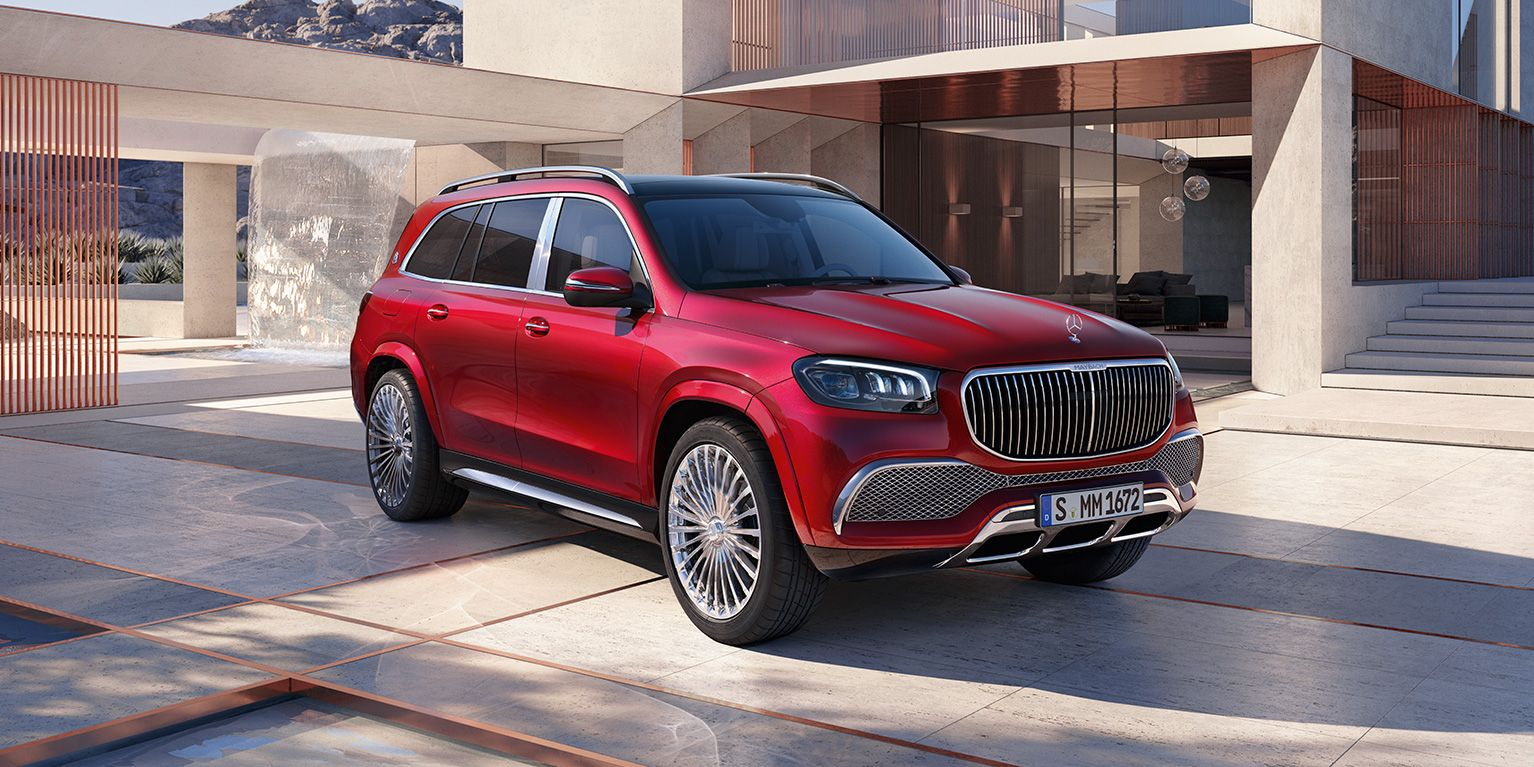 Мерседес Mercedes-Maybach GLS