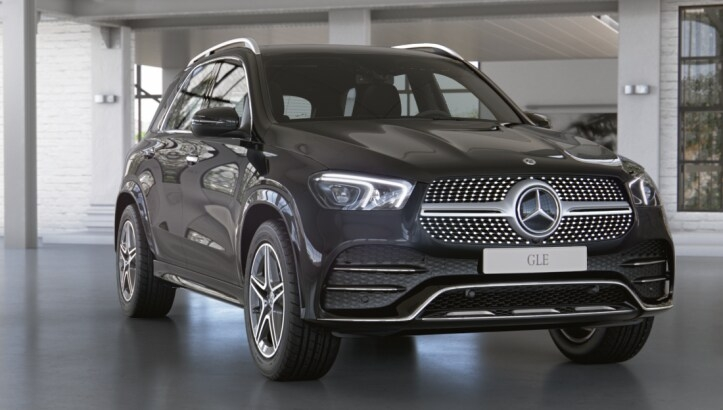 Mercedes-Benz GLE 450 4MATIC Sport Plus (197)черный обсидиан (505)Кожа Exclusive Наппа, бежевый маккиато / серая магма